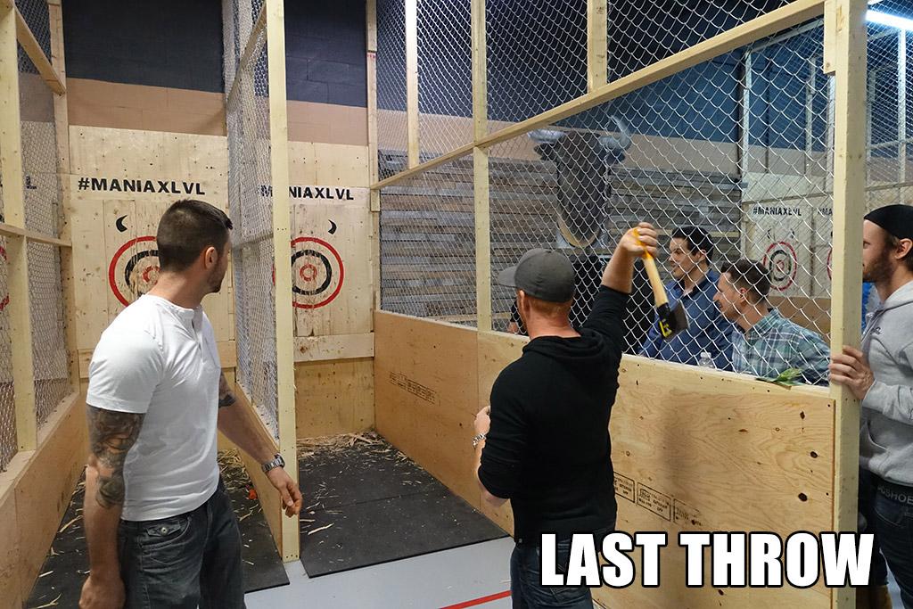 last throw
