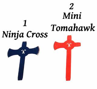 ninja cross mini tomahawk
