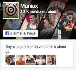 Facebook Aime Maniax