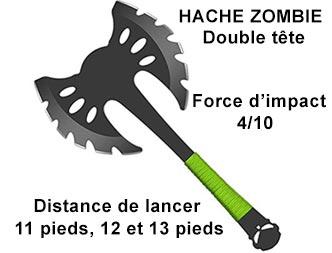 Zombie double tete