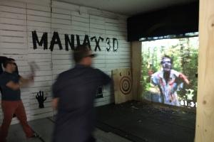 3d Maniax axe throwing
