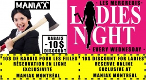 Maniax soiree des dames